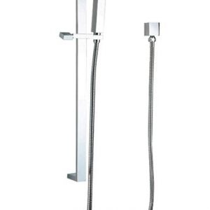 Square Handshower on Rail