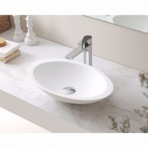 VA 606011 Round Solid Surface Basin