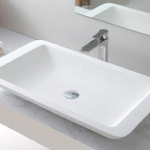 VA 603590 Rectangle Solid Surface Basin