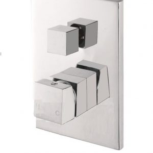 Shower/Bath Mixer with Diverter