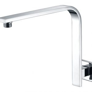 Square High Rise Shower Arm Wall