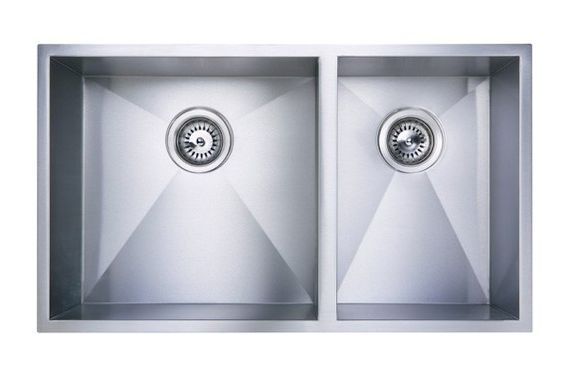 Vogue 775R Double Bowl Undermounted kitchen sink