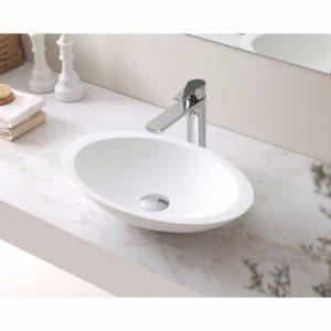 VA 606011 Round Solid Surface Basin