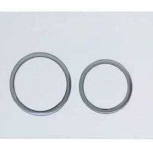 ZFP3003 Round Push Button-White