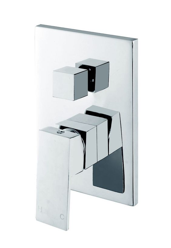 Shower/Bath Mixer with Diverter