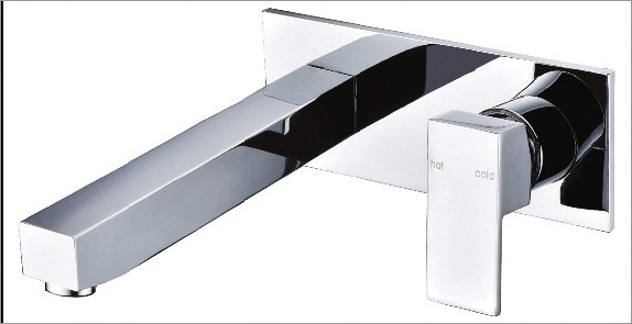 Cubus Wall Spa Set with Backplate Spout
